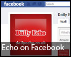 Follow the Daily Echo on Facebook to get headlines straight to your news feed.
