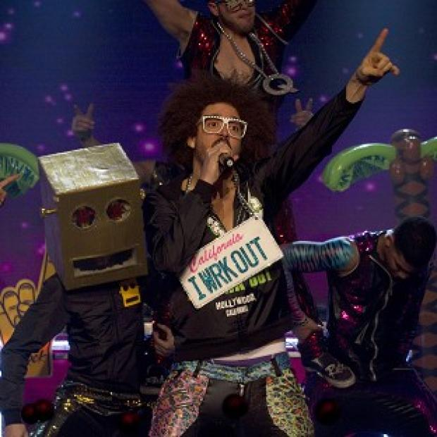 LMFAO were among the stars performing live for Sport Relief 2012 (Guy Levy/ BBC/PA)