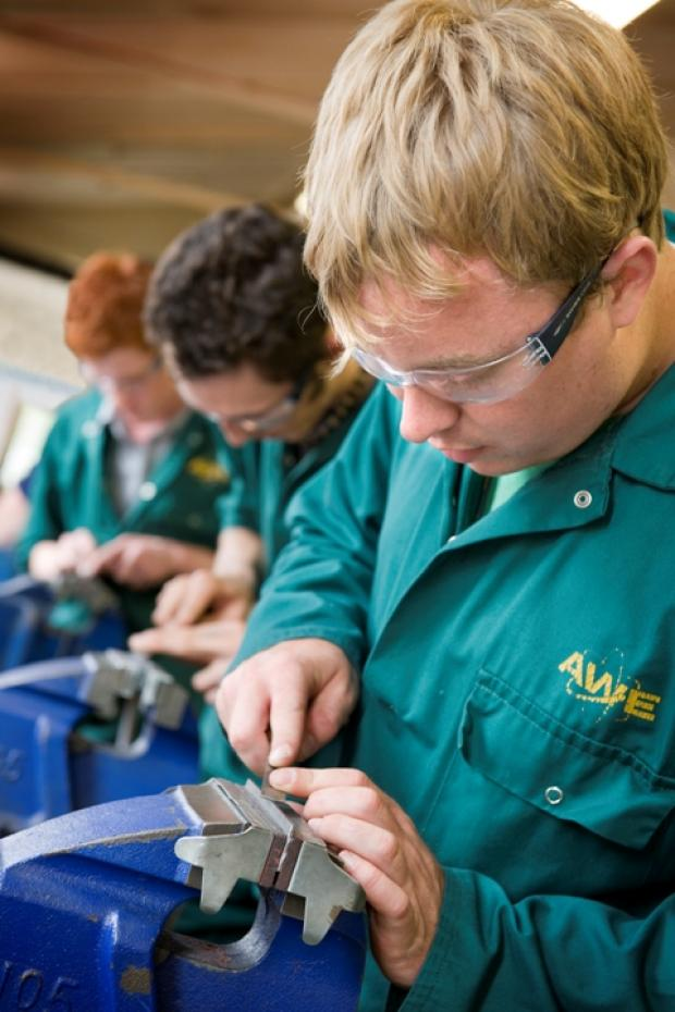 Apprentices at AWE