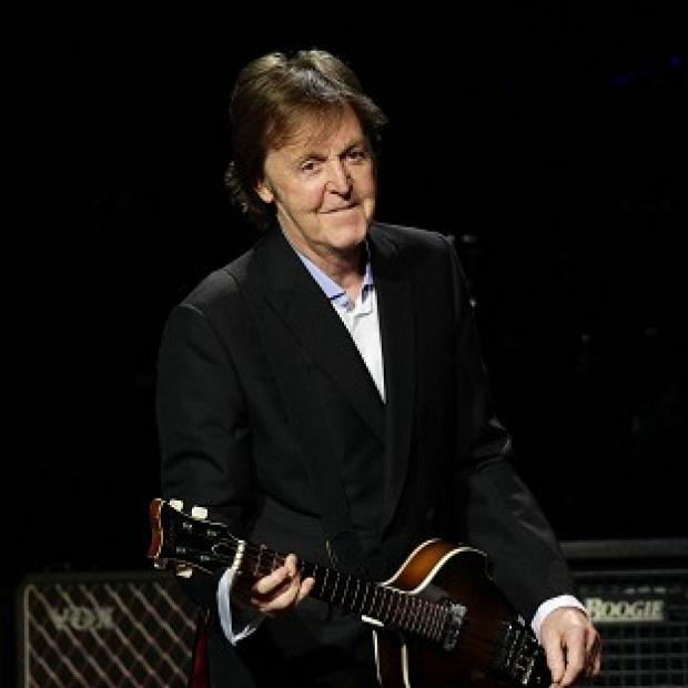 Sir Paul McCartney is helping raise money for charity Nordoff Robbins