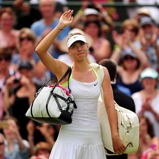 Maria Sharapova has made it into the second week of Wimbledon after another victory on Centre Court