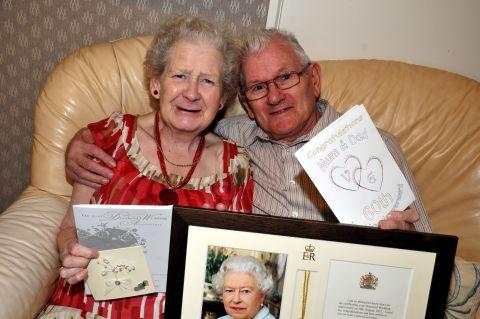 Basingstoke couple Valda and Gerald Ball celebrate diamond anniversary