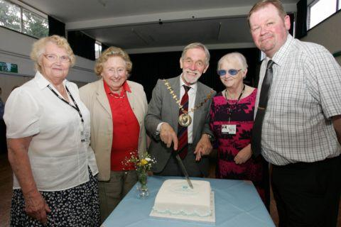 Milestone anniversary for Open Sight charity