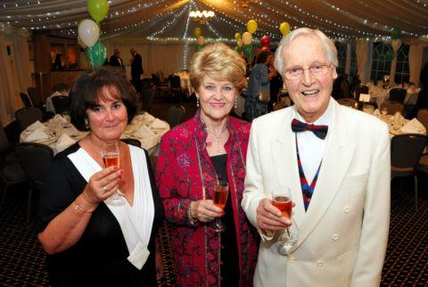 Nicholas Parsons guest of honour at Cliddesden charity fundraiser