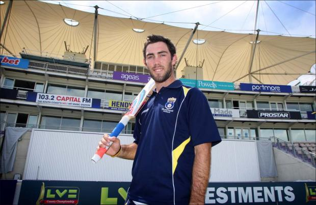 Maxwell keen on Hants return