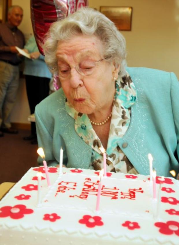 Secret of long life is to be happy, says 100-year-old woman