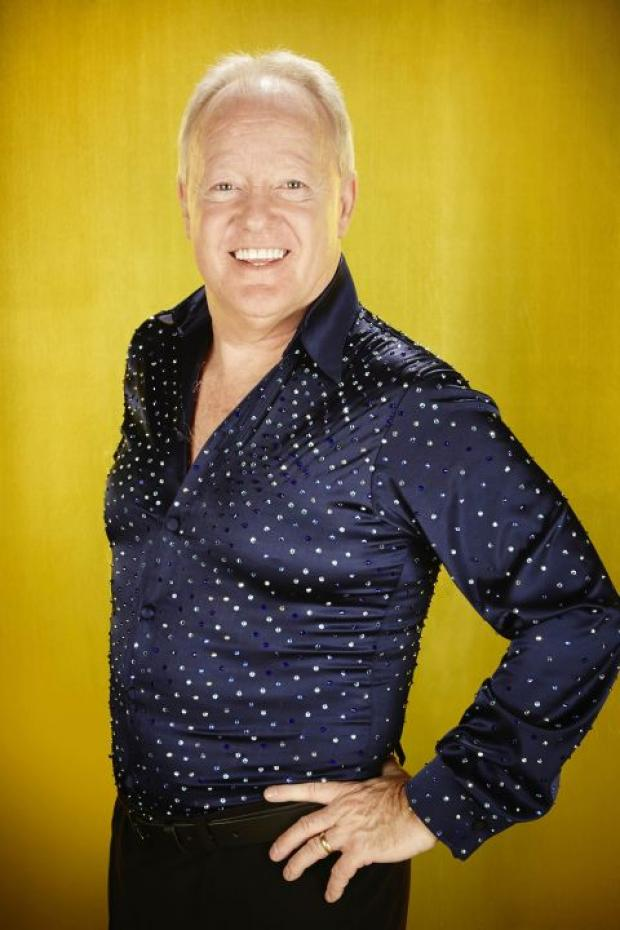 Video: Keith Chegwin rehearsing for Dancing on Ice in Basingstoke