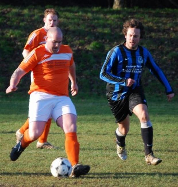Action from Kaiser Wessex's cup game against Hurstbourne Tarrant.