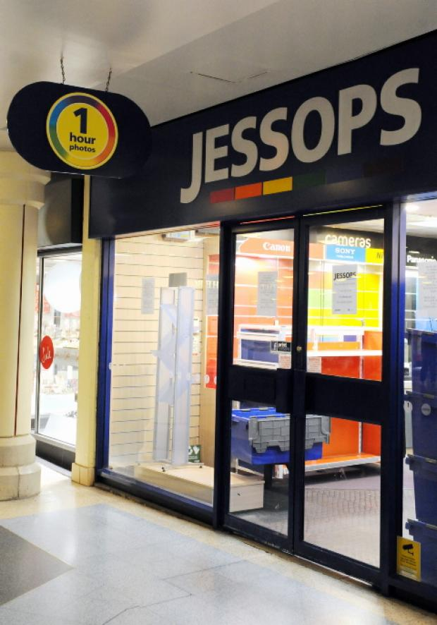 Jessop shop shuts as firm goes under