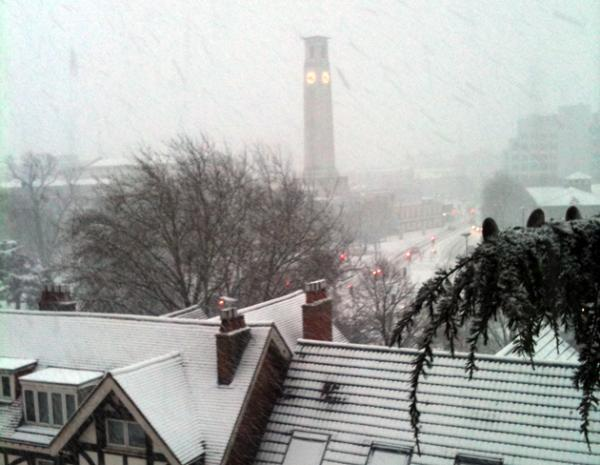 Southampton in the snow from Melanie Adams