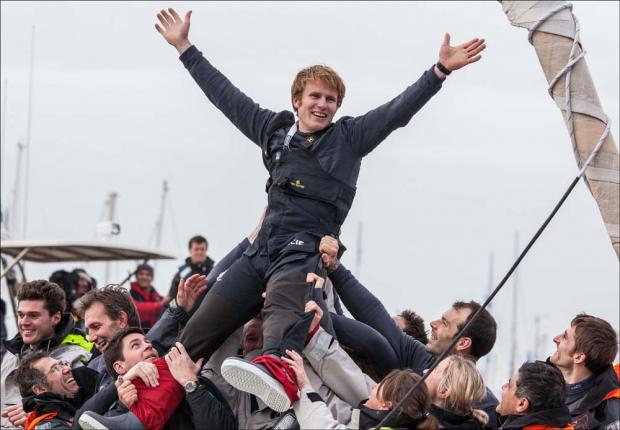 Records tumble in Vendee Globe finish