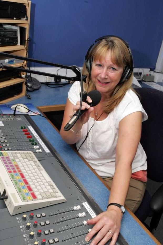 Christine Rowley, presenter at Hospital Radio Basingstoke