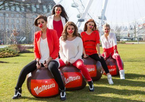 Girl band The Saturdays are backing this year's Comic Relief