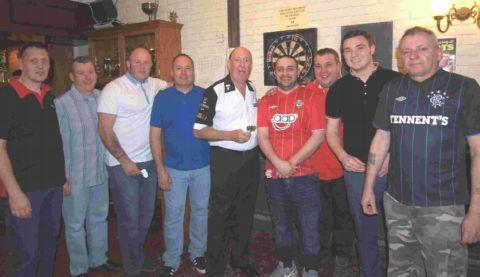 Shock for ex-darts champ
