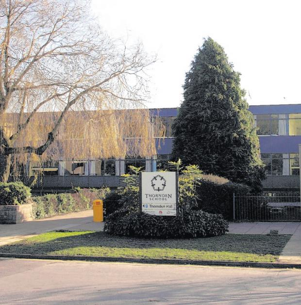 The quality of schools in Chandler's Ford, like Thornden (pictured), is one of the reasons it is in the top 20 places to raise a family in the UK